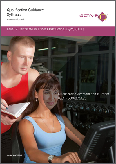 Active IQ Level 2 Certificate in Gym Instructing